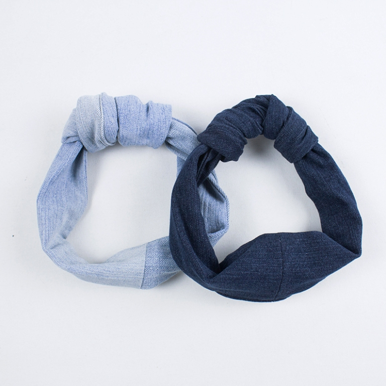 kinsu denim hair accessories upcycling1