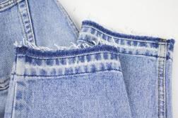 Kinsu released hem jeans-3
