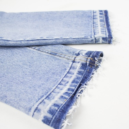 Kinsu released hem jeans-5