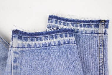 Kinsu released hem jeans